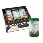 Promopack Puro BIO bonen + koffiesierblik