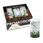 Promopack Puro BIO GEMALEN koffie + koffiesierblik