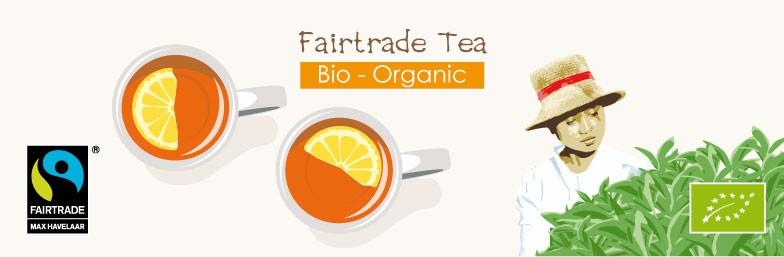 4 Puro Fairtrade Tea